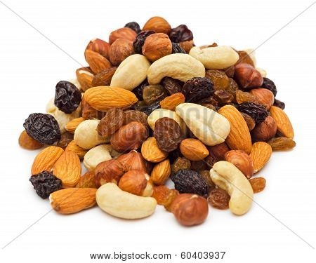 Pile Of Mixed Nuts