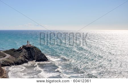 Lighthouse At Cabo De Gata, Andalusia(spain)