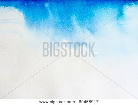 Watercolor Background Heavens