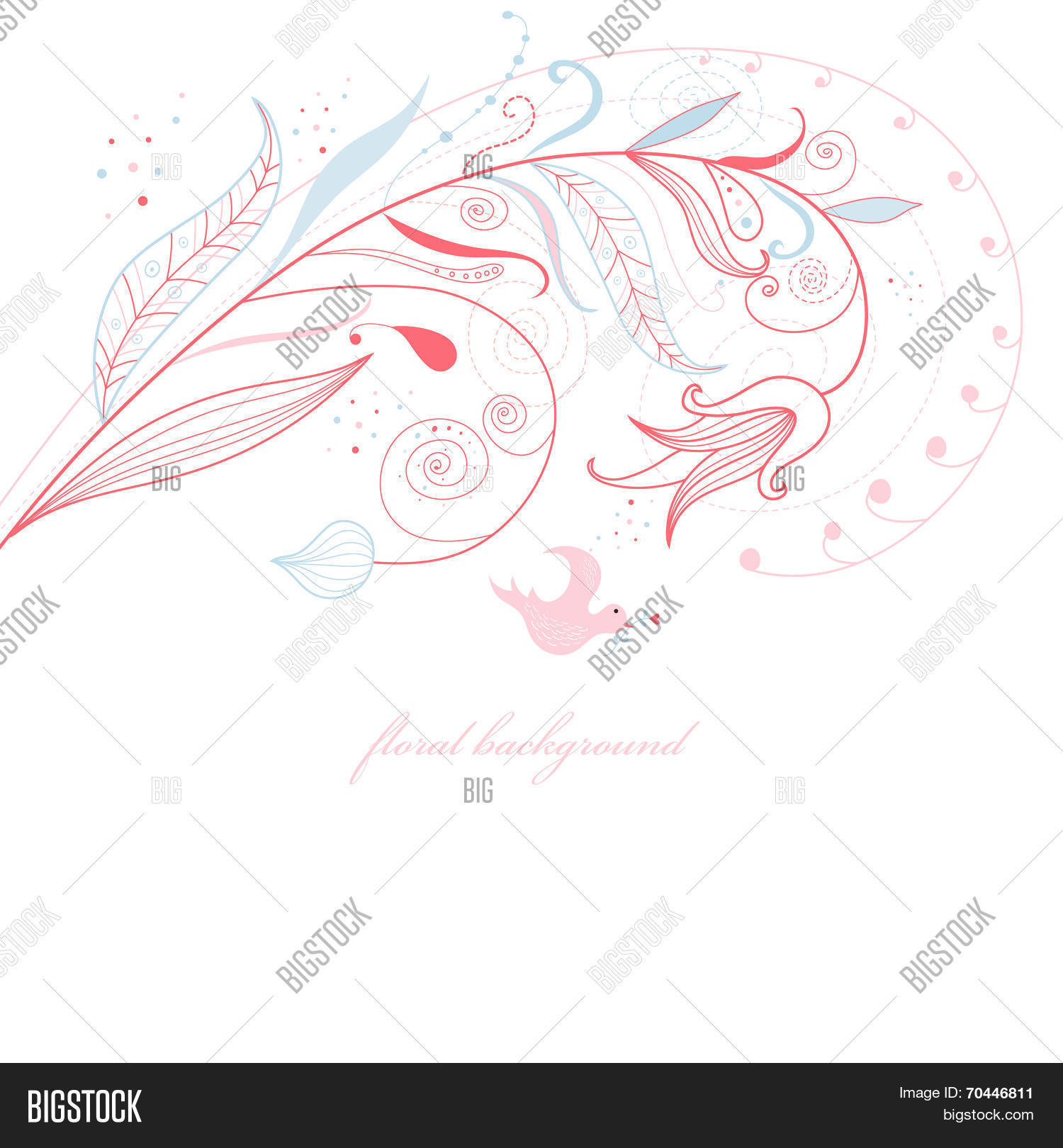 Beautiful designs image photo free trial bigstock beautiful designs of flowers and love birds drawing graphic ornament izmirmasajfo