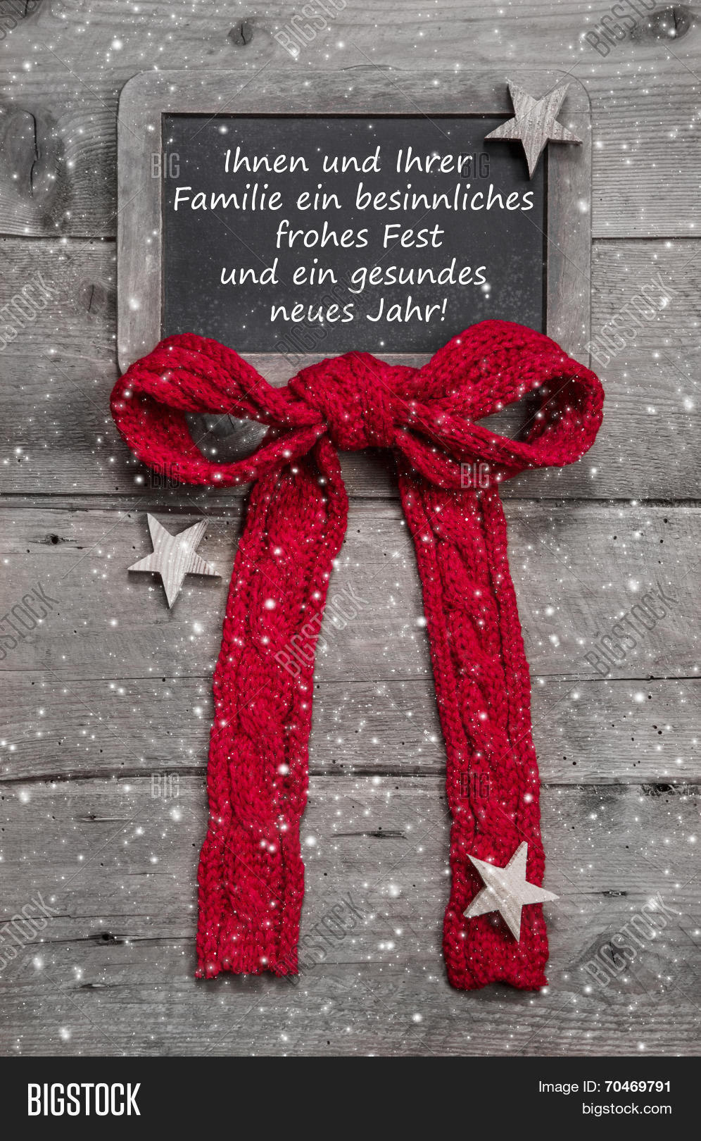 Merry christmas happy image photo free trial bigstock merry christmas and a happy new year greeting card with german text in old country style m4hsunfo