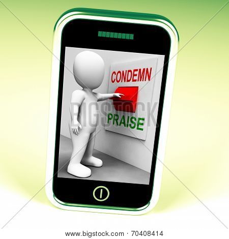 Condemn Praise Switch Means Appreciate Or Blame