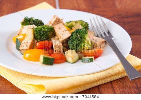Vegan Tofu Meal