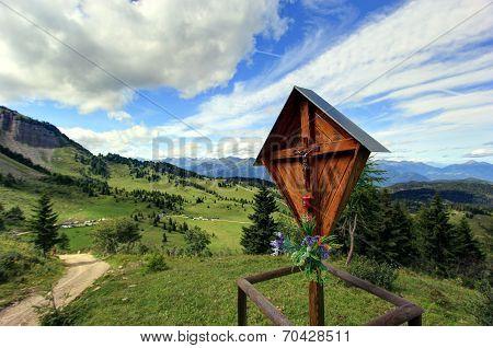 mountain crucifix