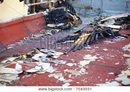 Demolished And Burnt