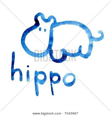 Hippo Figure Adapted For The Child's Perception