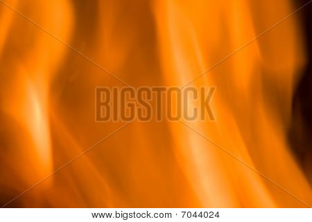 Orange Fire Textured Background.