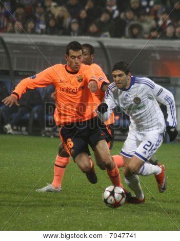Sergio Busquets And Gérson Magrão