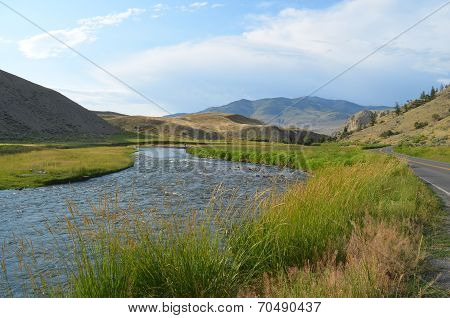 River to Montana