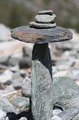 balancing rocks poster
