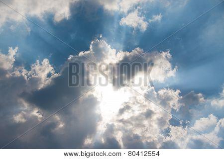 Sunbeam Through Haze
