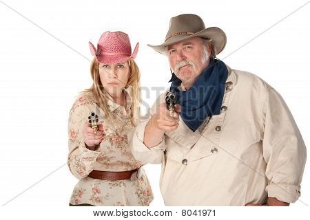 Western Wear Couple