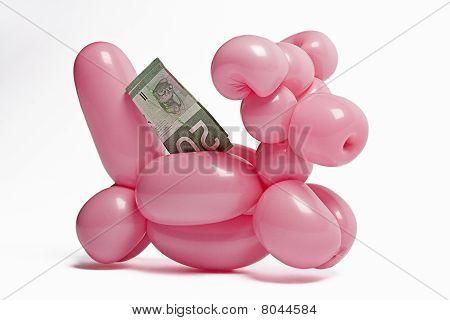 Balloon Piggy Bank