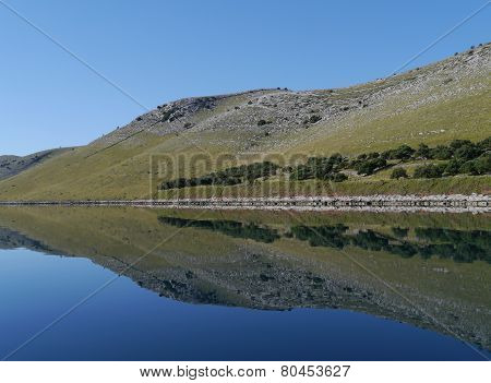 Refelections in the Statival bay of Kornat