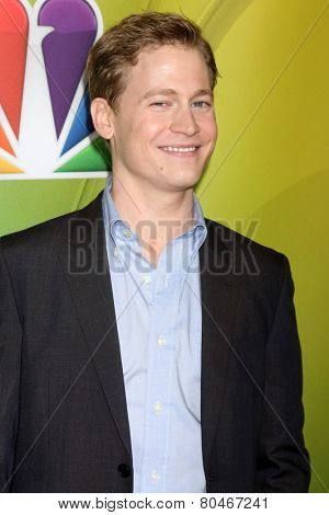 LOS ANGELES - JAN 16:  Gavin Stenhouse at the NBCUniversal TCA Press Tour at the Huntington Langham Hotel on January 16, 2015 in Pasadena, CA