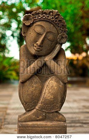 Antique Female Statue