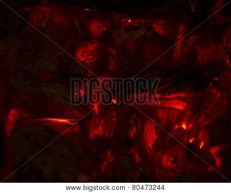 Abstract Burning Embers