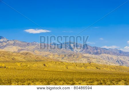 Mountains Of Panamint Valley Desert