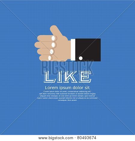 Like Us, Thumb Up.