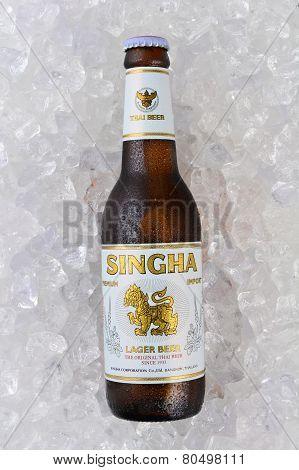 Singha Beer On Ice