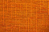 texture of orange fabric and closeup ground poster