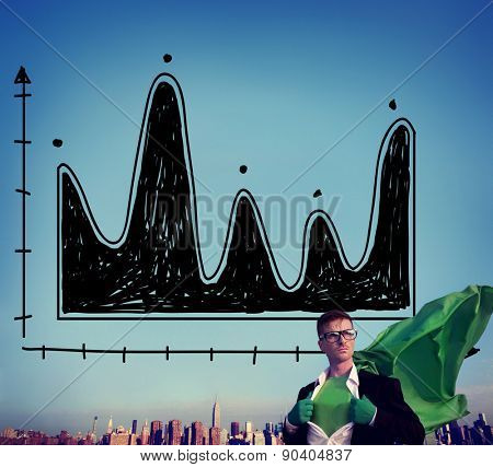 Diagram Parabola Investment Equation Graph Concept poster