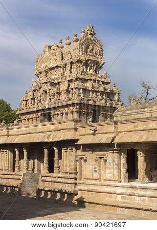 Gopuram Above Entrance To Temple.