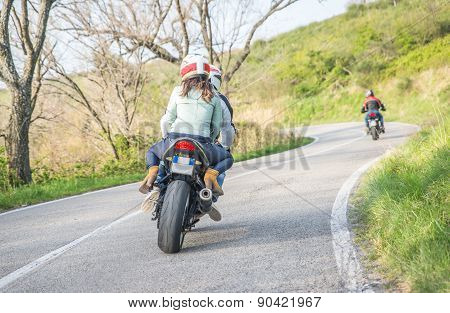 Motorcycle Fare In The Weekend