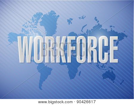 Workforce International Sign Concept