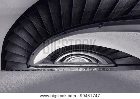 Ladder-snail Art Nouveau