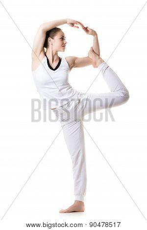 Yoga Pose Nataradjasana