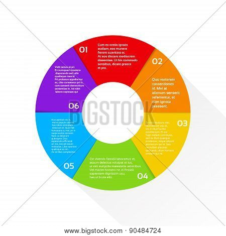 Finance Pie Diagram Circle Infographic Financial Graph Set