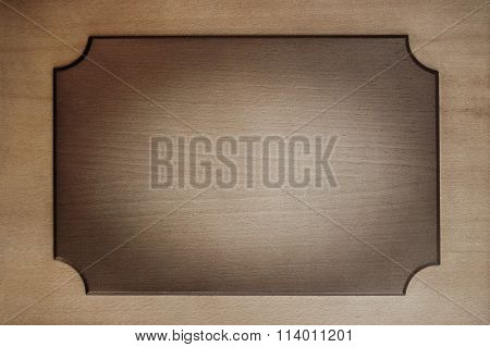 wooden plate, sign board, sign plate, tabloid