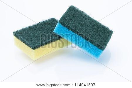 Sponges Isolated