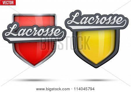 Premium symbols of Lacrosse Tag
