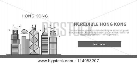 Web Page Chinese City of Incredible Hong Kong