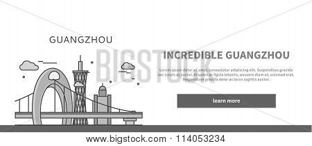 Web Page Chinese City of Incredible Guangzhou