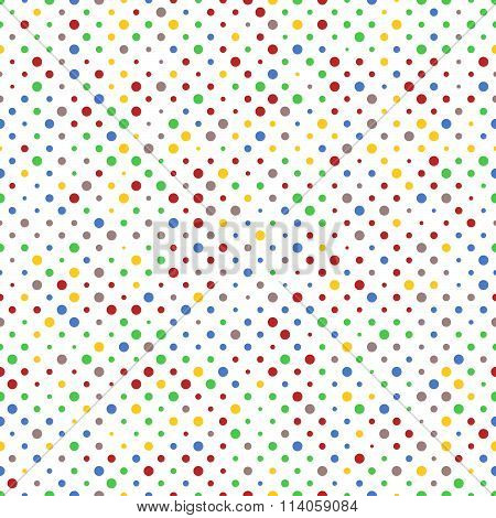 Pattern Of Vibrant Dots