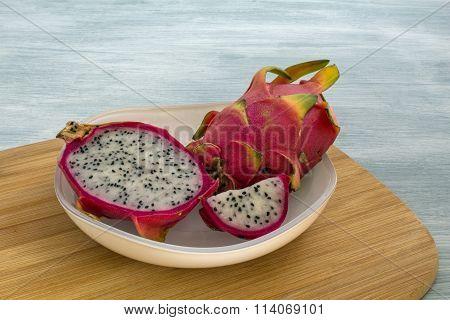 Pitaya in a bowl