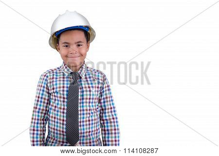 Future Young African American Engineer