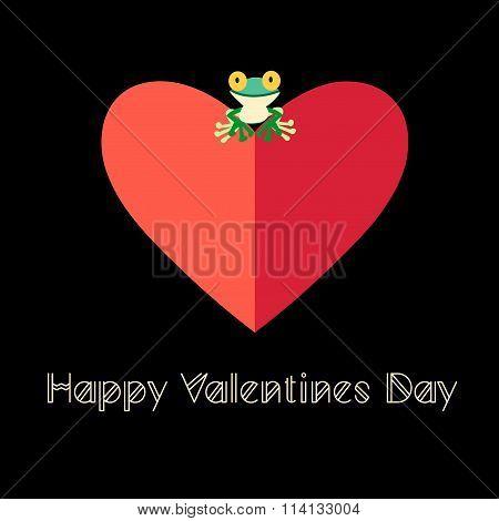 Beautiful Love Frog
