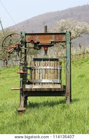 Vintage Grape Presser