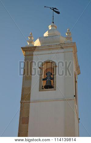Matriz Church Bell tower in Albufeira