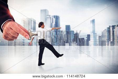 Handling employee
