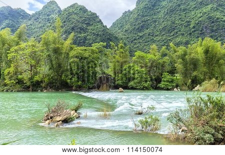 River rapids on homeland