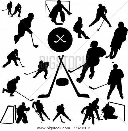 Hockey Collection vector