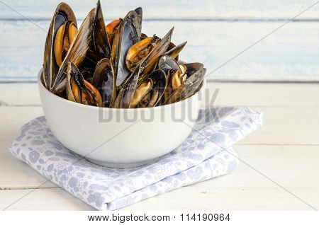 Mussels In The Shell