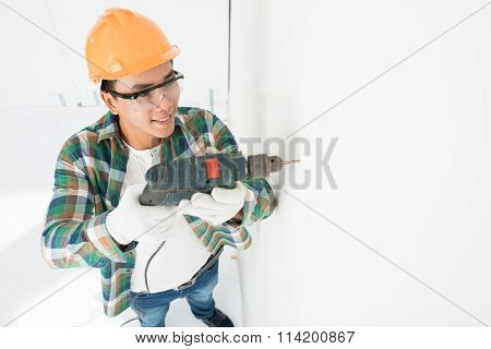 Drilling Wall