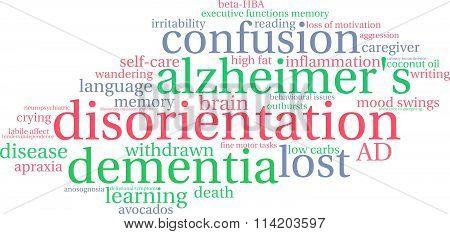 Disorientation Word Cloud