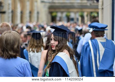 University of Bath graduation ceremony